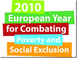 Logo de la campaña del Año Europeo de Lucha contra la Pobreza y la Exclusión Social