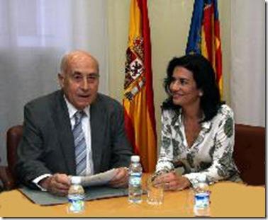 José Cholbi y Angélica Such, un matrimonio muy bien avenido.